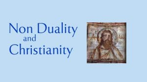 Link to talk on non-duality and christianity
