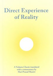 Cover of Direct Experience of Reality