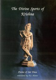 Cover of Divine Sports of Krishna