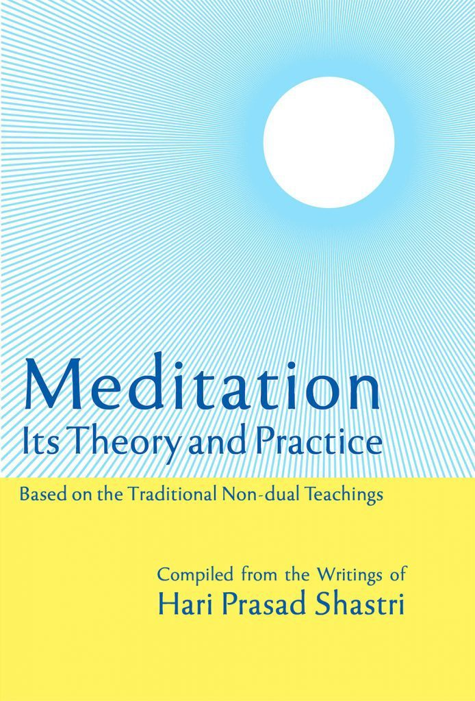 Cover of Meditation its Theory and Practice