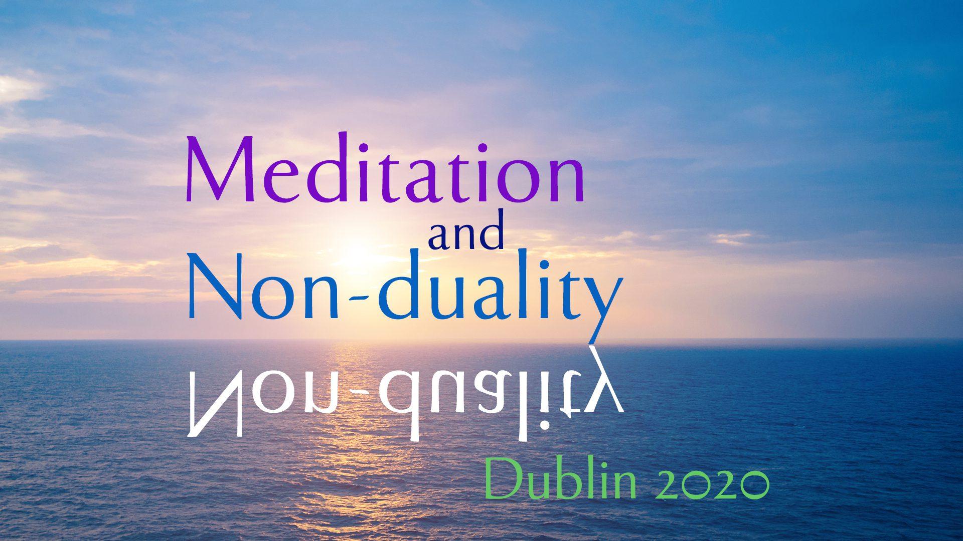 meditation non duality