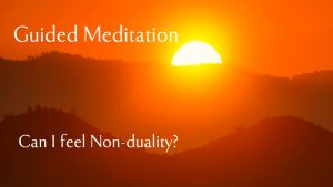 Non duality symbolised by the rising sun