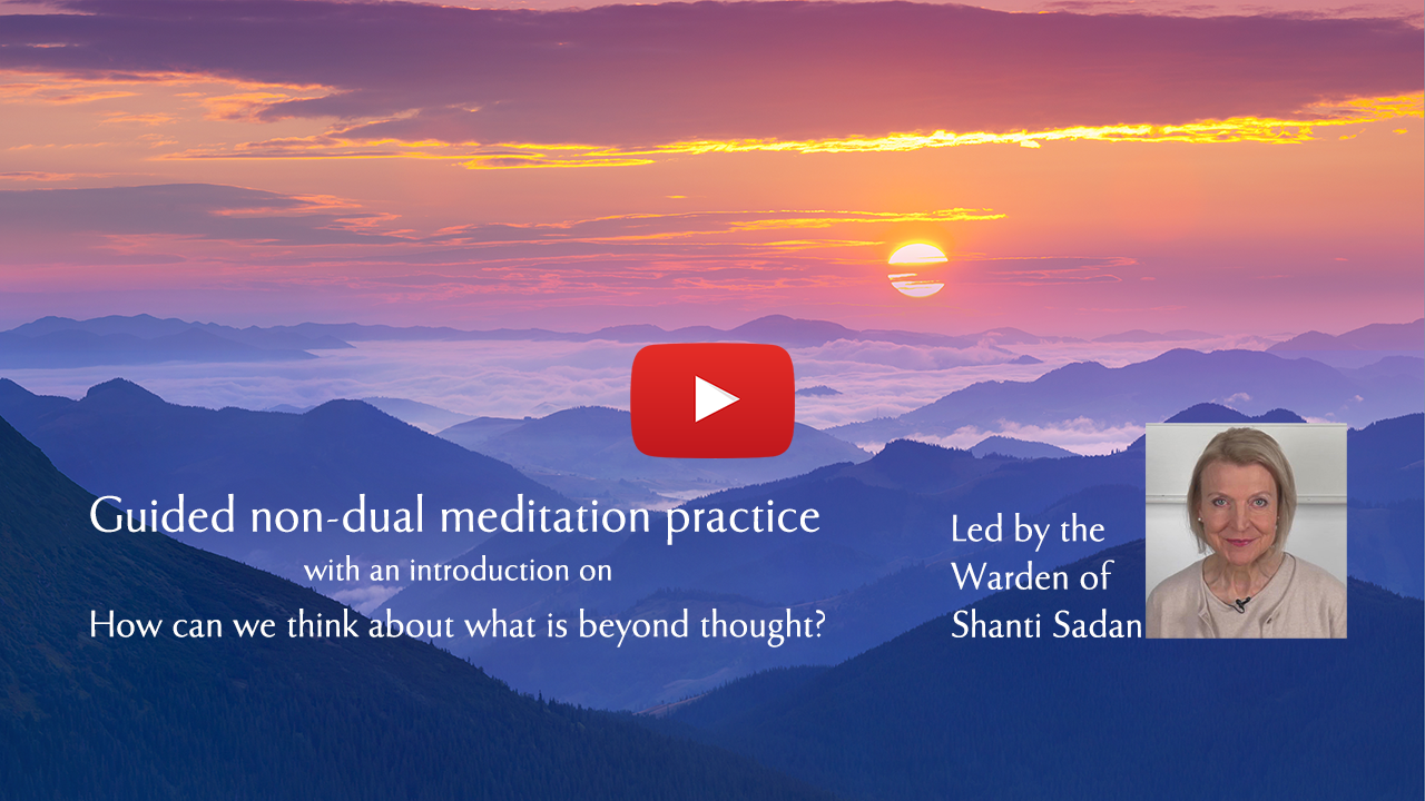 Link to non dual meditation practice